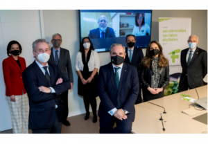 El Comité Directivo del Consejo de Farmacéuticos recibe a la nueva Junta de Gobierno del CGCOM