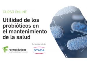 El Consejo General de Colegios Farmacéuticos y STADA impulsan el conocimiento del farmacéutico en probióticos