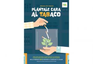 Las farmacias cambian cigarrillos por plantas decorativas