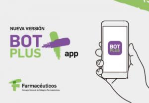 Nueva versión de BOT PLUS app con información actualizada de todos los medicamentos autorizados