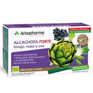 Arkofluido Alcachofa Forte BIO, una ayuda para perder peso y detoxificar el organismo