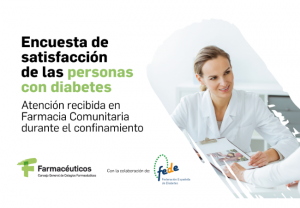 Una encuesta permitirá conocer el grado de satisfacción con la asistencia farmacéutica de las personas con diabetes durante el confinamiento