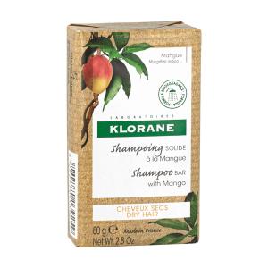 Klorane presenta uno de sus best-sellers, el champú al mango, para cabello seco, en versión sólida