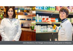 Farmacias de San Sebastián participan en la iniciativa municipal 'Erlauntza' para mejorar la calidad de vida y autonomía de las personas