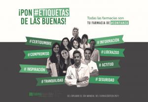 Farmaquatrium lanza la campaña de reconocimiento al sector farmacéutico ¡pon #etiquetas de las buenas!