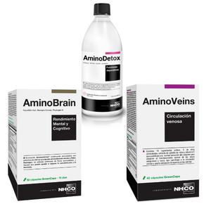 NHCO Nutrition® amplía su gama con AminoDetox, AminoVeins y AminoBrain
