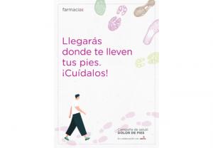 Fedefarma fomenta el abordaje de la salud de los pies y la prevención de sus dolencias desde la farmacia
