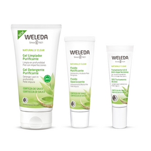 weleda clear escaparate